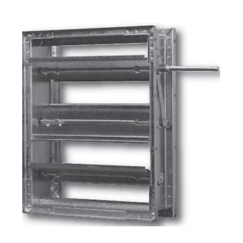1500 Series High Temperature Control Damper