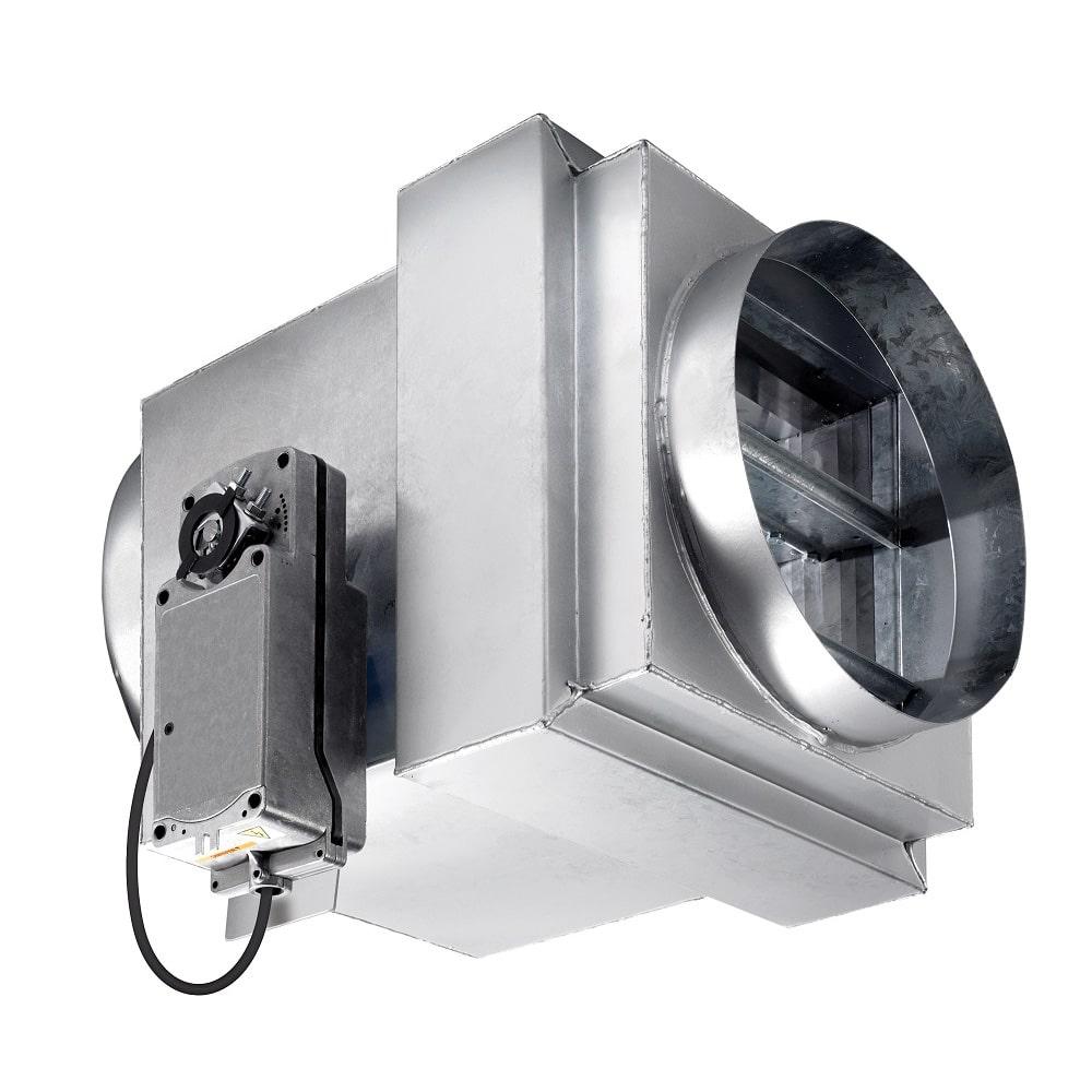 2530 Electrical Release CE Marked Fire Smoke Damper
